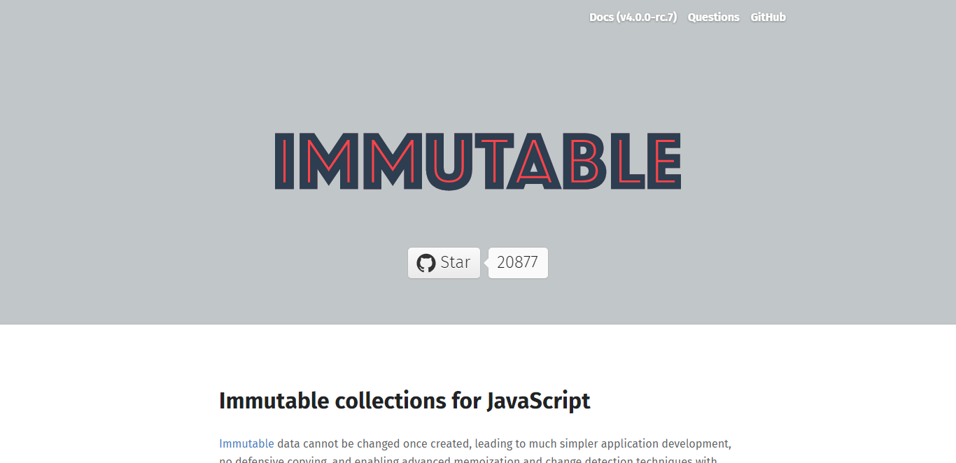 Take advantage of immutability