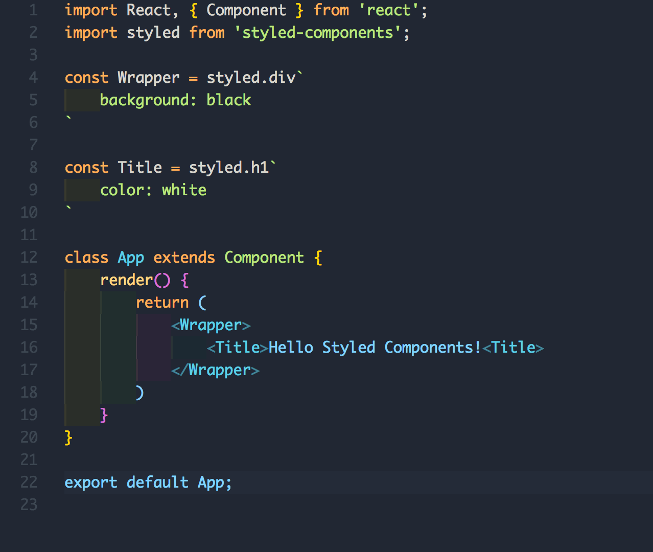 All You Need To Know About CSS-in-JS | CodeCarrot Blogs