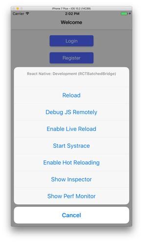 React-Native debug tools