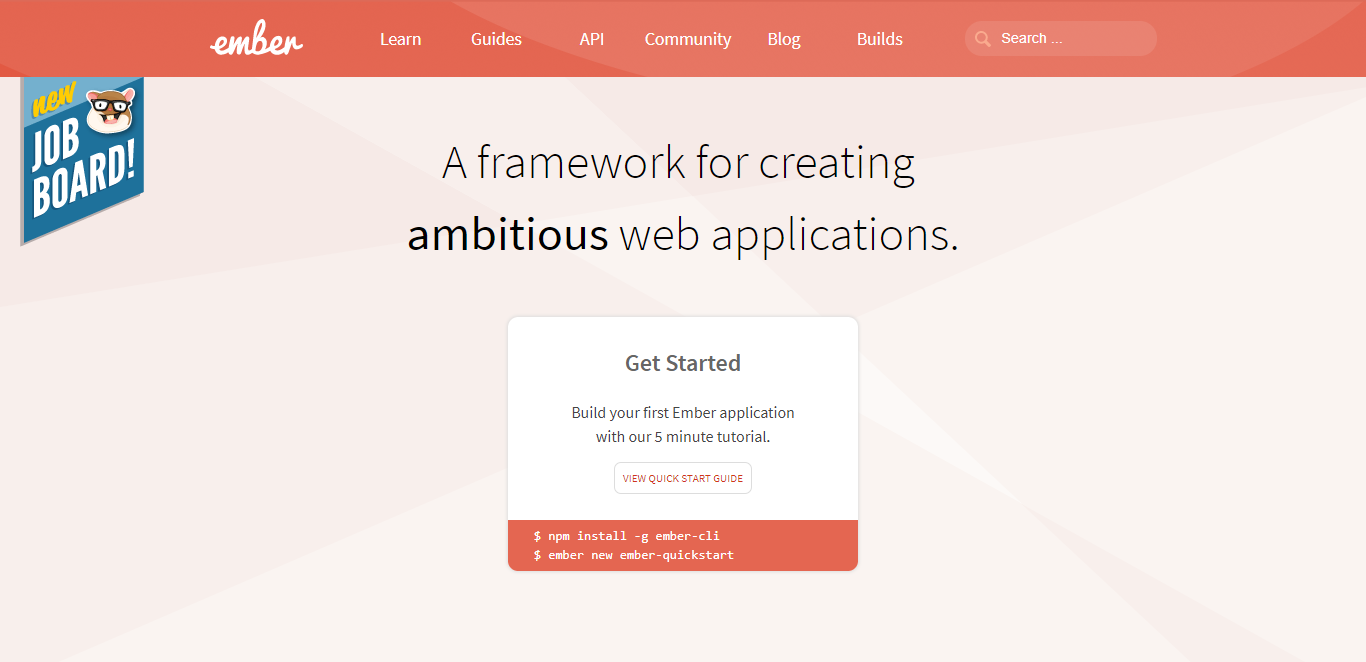 Opinionated framework Ember.js has the world's cutest framework mascot: Tomster