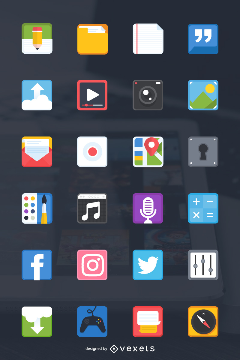 Mobile App Icon Preview